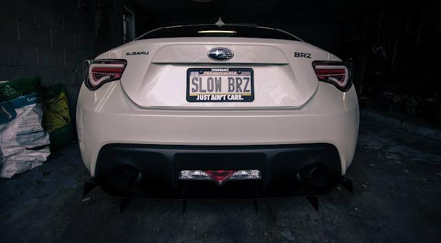 Subaru BRZ, tylne reflektory, samochody do tuningu, nowe japońskie auta