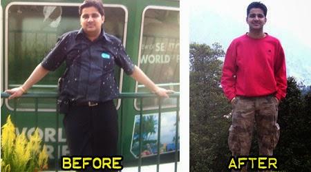 weight loss success stories - Ankur