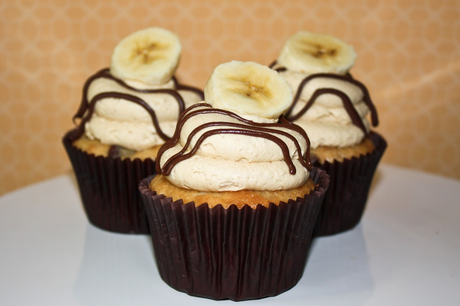 Chocolate & Banana Cupcakes (with recipe link!)