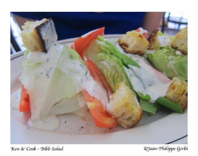 Image of Bibb salad at Ken and Cook in Nolita NYC, New York