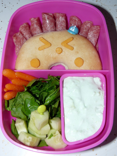 monday crazy bento lunch