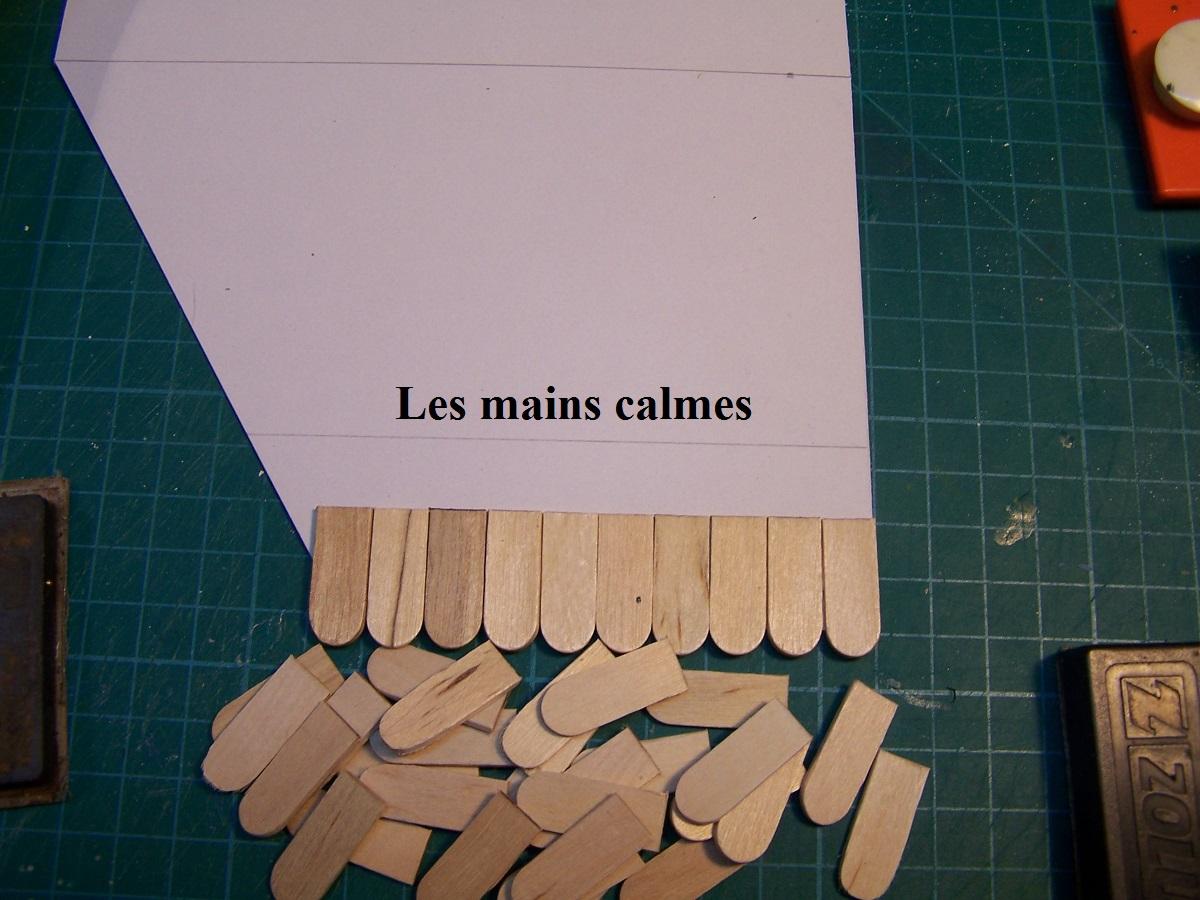 Les mains calmes comment faire une toiture en tuiles plates - Comment faire une toiture en tuile ...