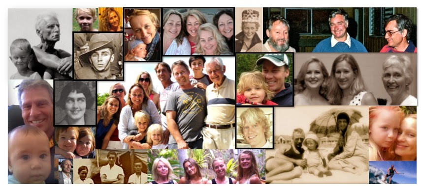 Collage Rhoades Family