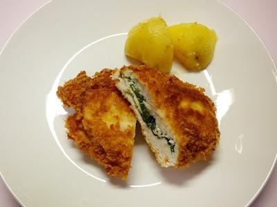 鶏肉の大葉チーズ柚子胡椒挟み揚げ
