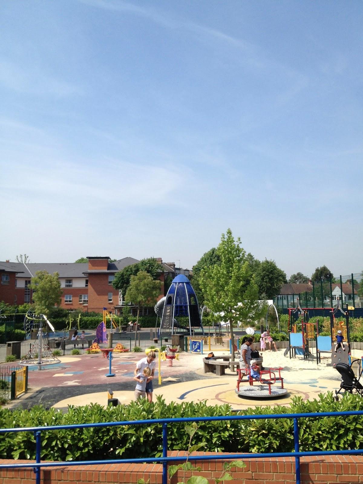 Life w annie beating the heat at kensington memorial park for Kensington park