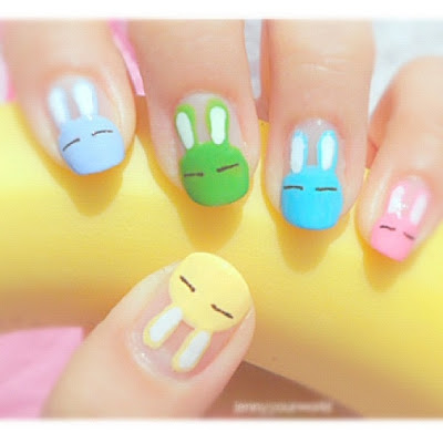 Too Sweet Cute Animals Nail Art Pretty Phingers