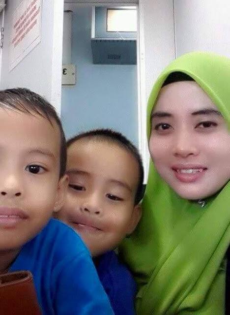 Ibu Tinggalkan Dua Beradik Selama-lamanya, Dua Beradik Pilu Hilang Ibu