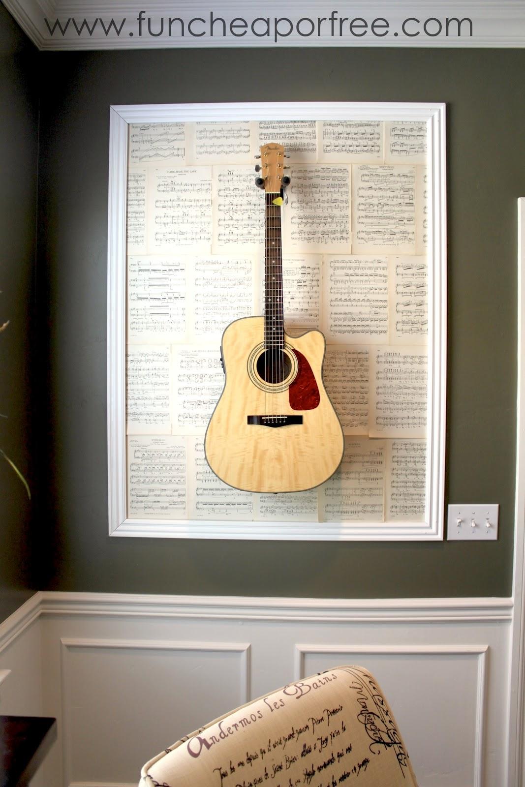 diy framed guitars fun cheap or free