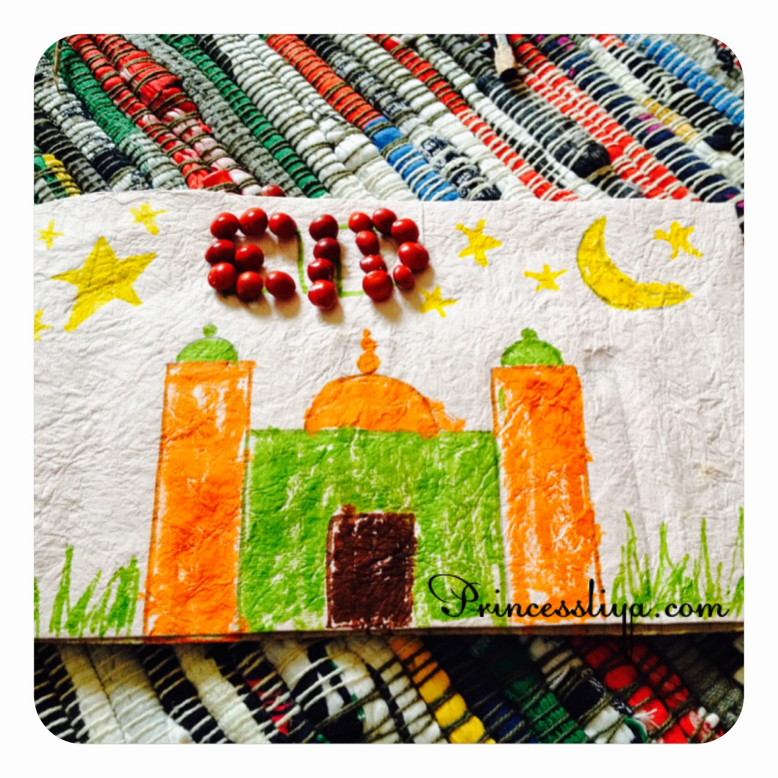 little red seeds masjid craft