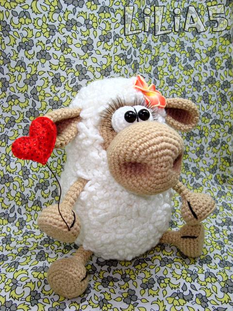 овечка Маруся крючком