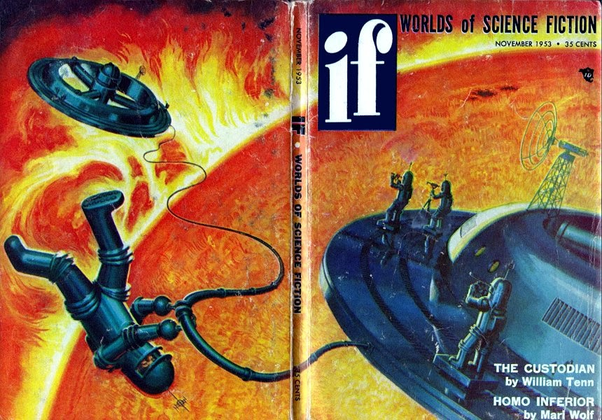 Worlds of Science Fiction - November 1953