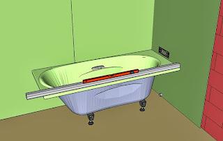 installer et habiller une baignoire. Black Bedroom Furniture Sets. Home Design Ideas