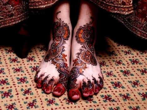 Mehndi Legs Images : Mehndi designs for hands : indian bridal legs