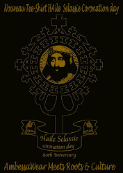 "Tee-Shirt ""Coronation"" Haile Selassie I"