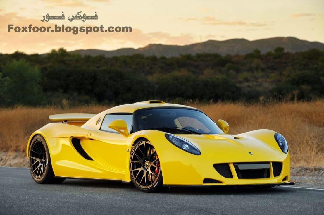 2- هينيسي فينوم جي تي  Hennessey Venom GT