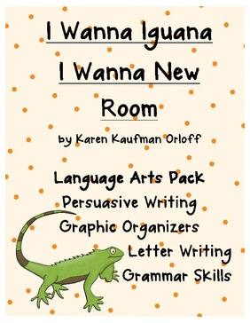 http://www.teacherspayteachers.com/Product/I-Wanna-Iguana-Mentor-Text-Pack-241335