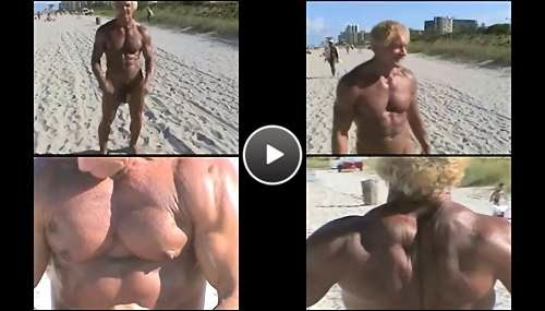 nude gay beach tube video