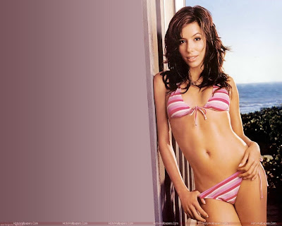Eva Longoria Hot Bikini Photo Shoot