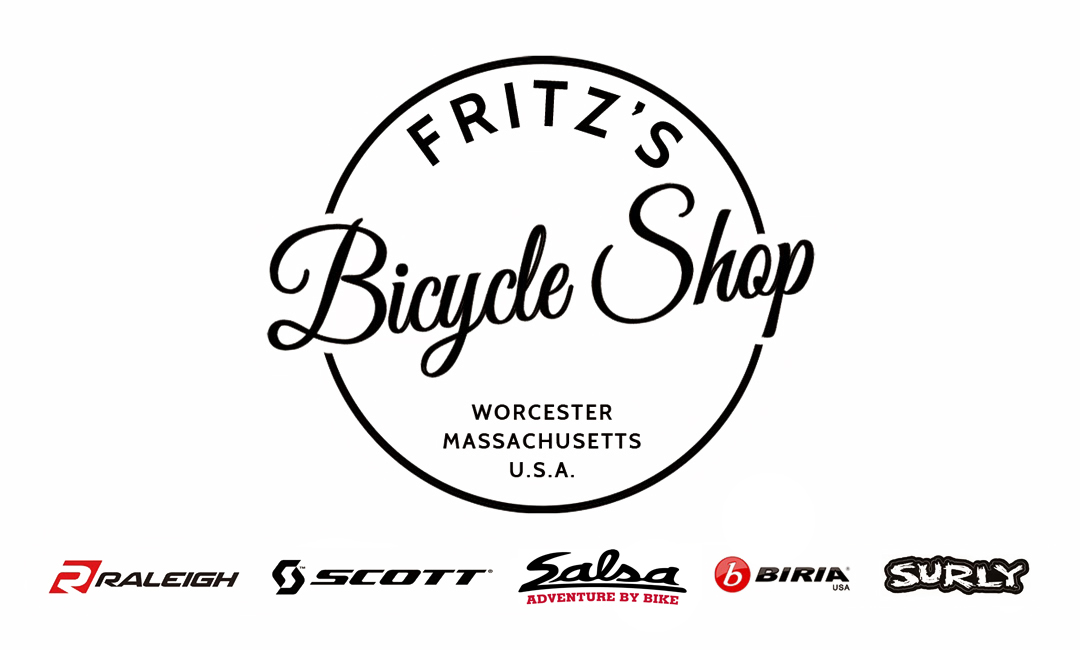 Bicycle Shop Logo Fritz's Bicycle Shop Worcester