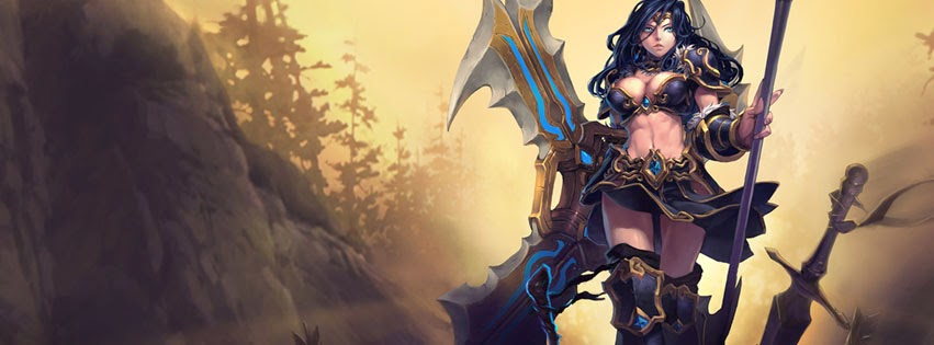 Sivir League of Legends Facebook Cover PHotos