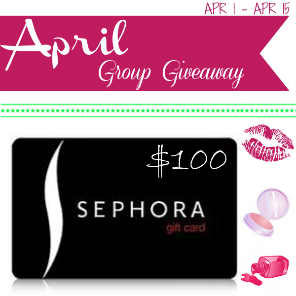 $100 Sephora Gift Card Giveaway, Giftcard Giveaway