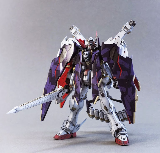 bandai master grade gundam model kit crossbone