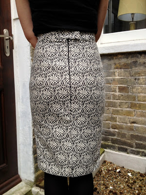 Diary of a Chainstitcher Floral Brocade By Hand London Charlotte Skirt sewing pattern