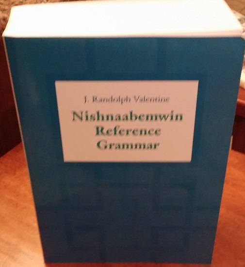Huge 900+ page Ojibwe grammar