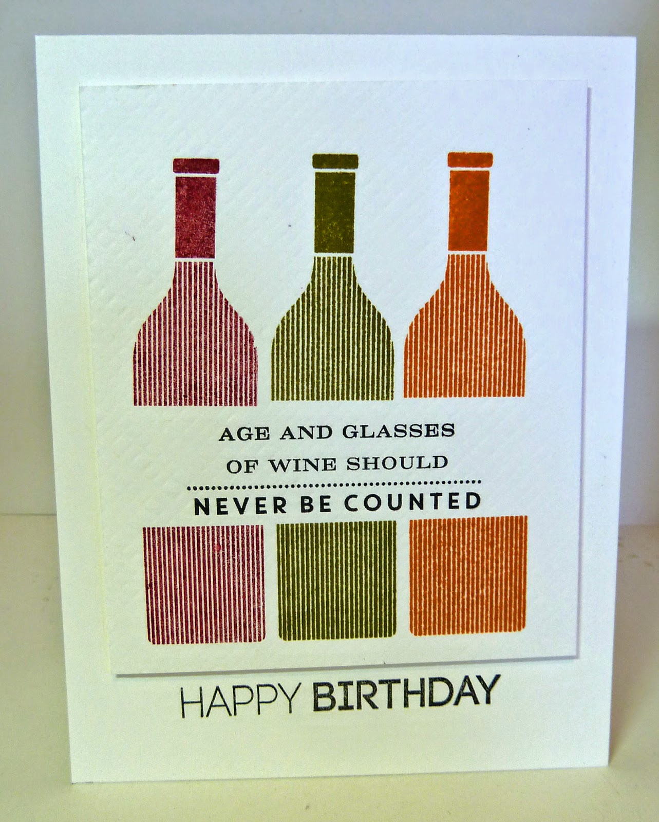 Cards By The Sea Uncorked Birthday Cards