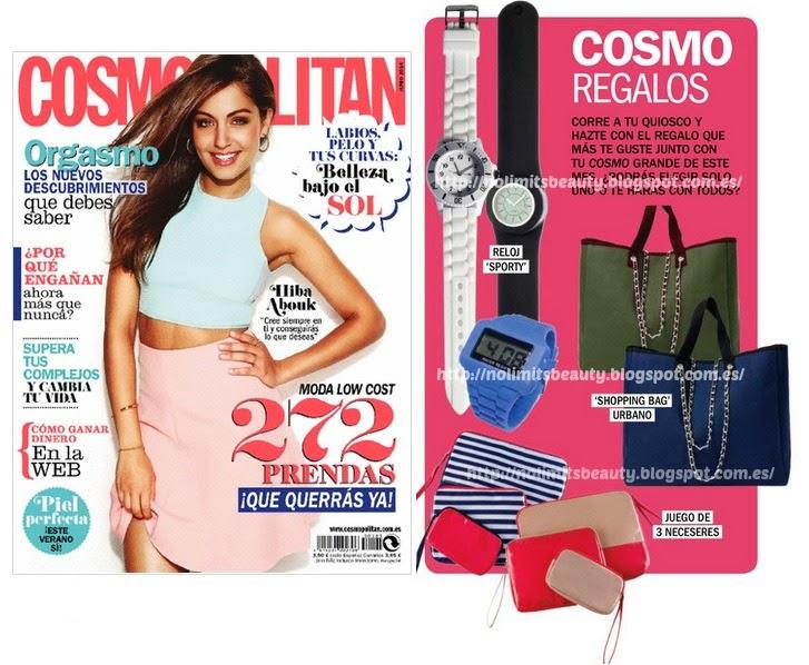Regalos revistas Junio 2014: Cosmopolitan