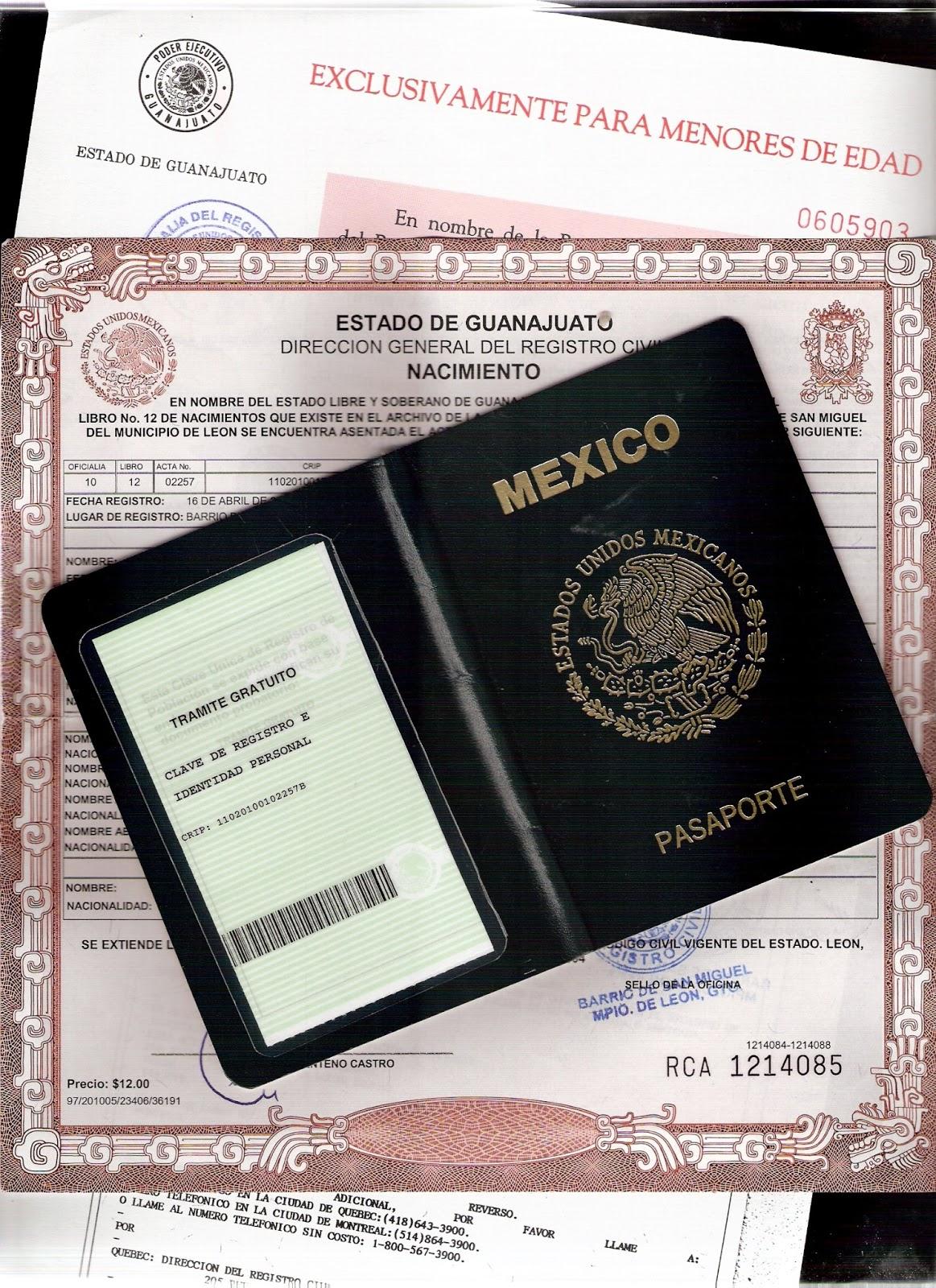 Actas del Registro Civil del Estado de Guanajuato | Apostille ...
