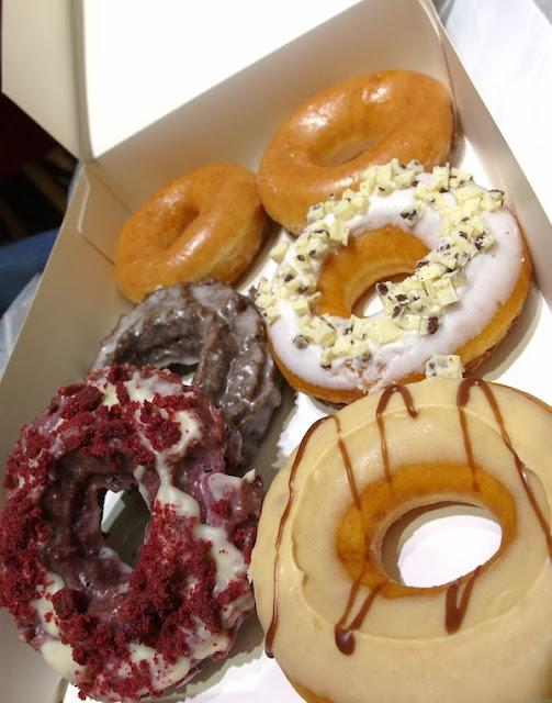 krispy kreme doughnuts singapore tangs orchard review lunarrive