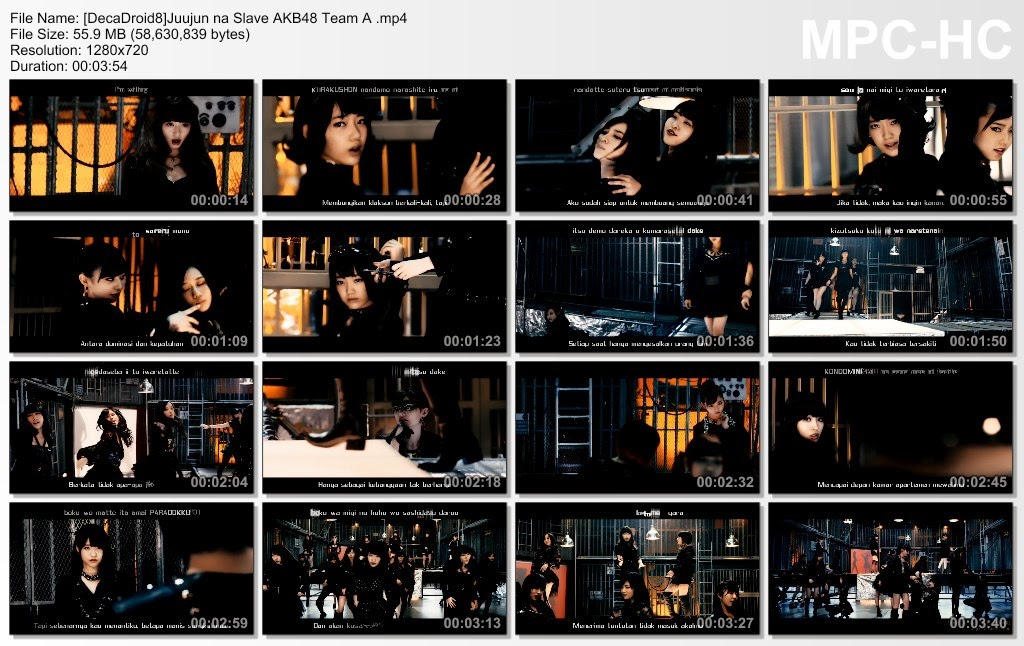 [PV] AKB48 Team A – Juujun na Slave (Sub Indo)