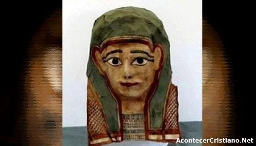 Encuentran manuscrito más antiguo del Evangelio de Marcos en momia egipcia