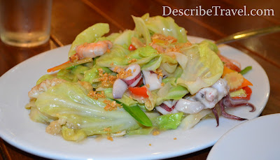 Seafood Chopsuey of Ikabud restaurant