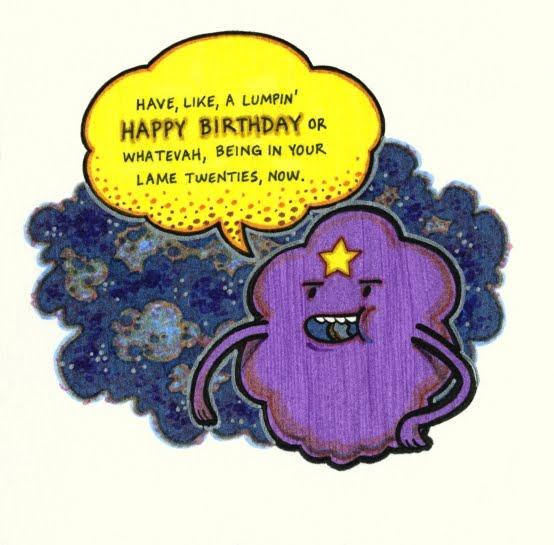 Artwork Of Andrew Shirey Lumpin Happy Birthday