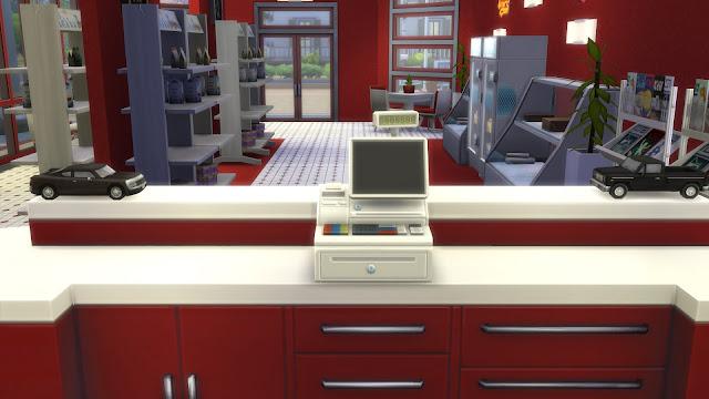 Cashier Sims 4