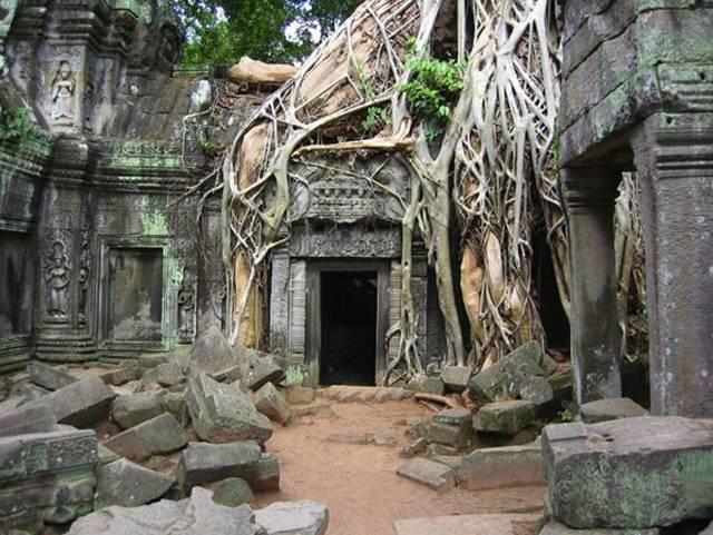 15.  Angkor Wat in Cambodia
