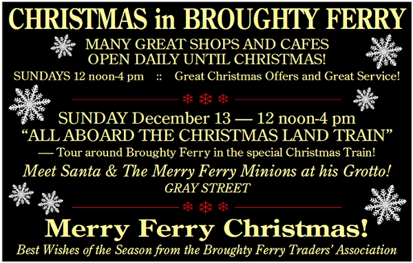 Christmas in Broughty Ferry 2015 from BFTA