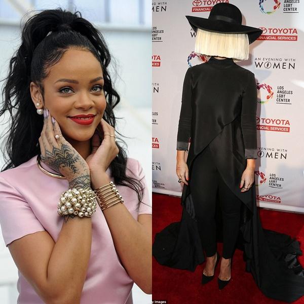 """Sia: """"Rihanna me visitó buscando canciones para su nuevo álbum"""""""