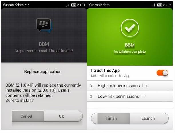 Cara Cepat Merubah Tampilan Tema BBM Android
