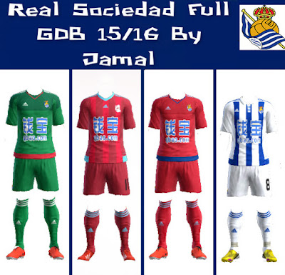 PES 2013 Real Sociedad Full GDB Season 2015/16 By Jamal