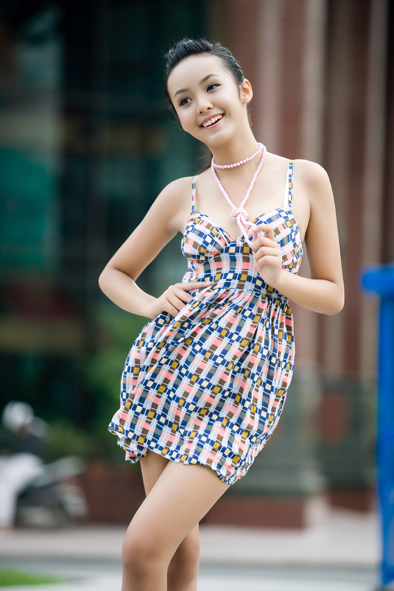 Le Hoang Bao Tran hot