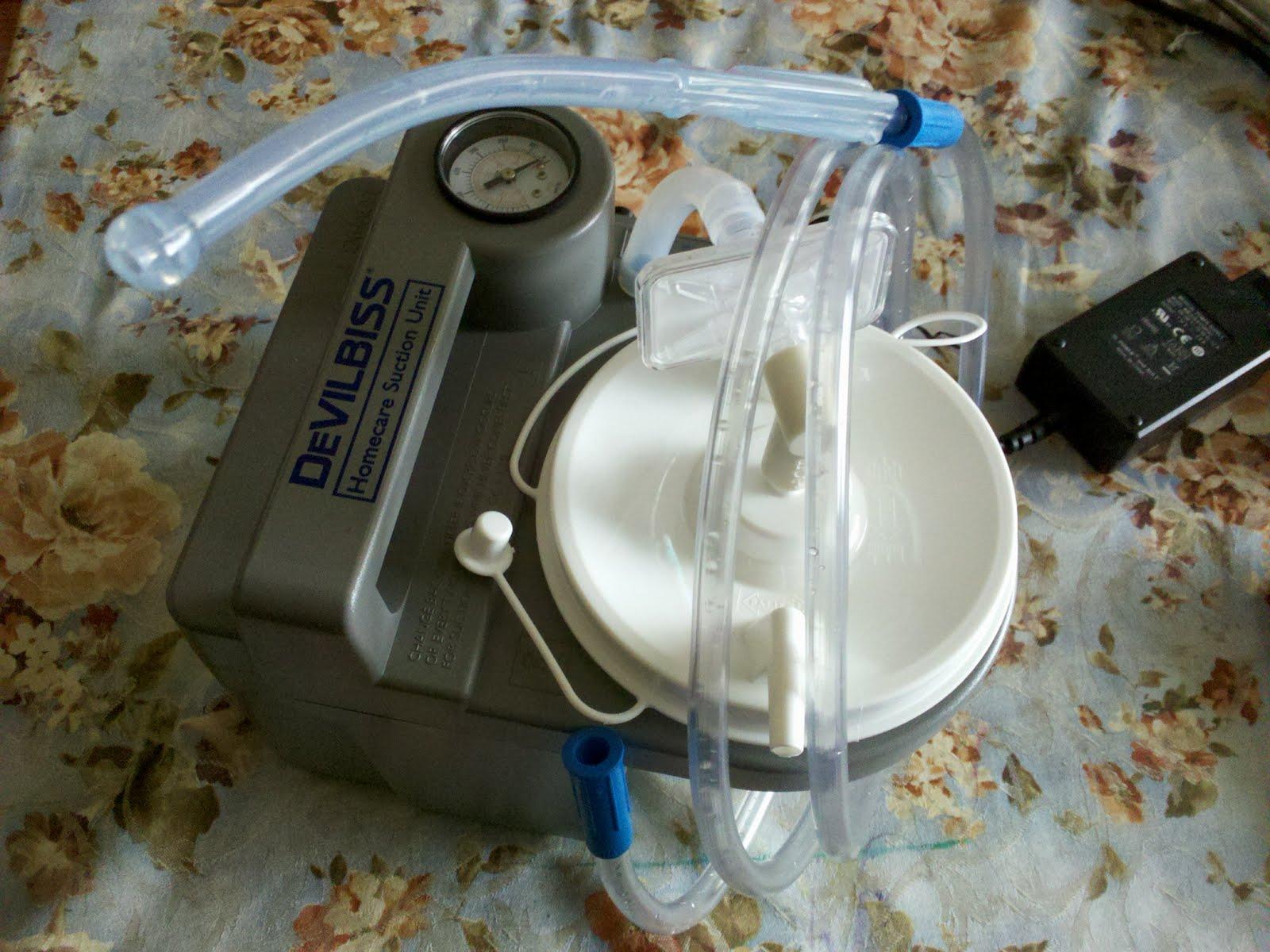 suction machine for saliva