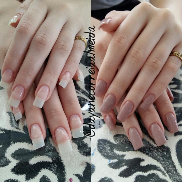 alongamento unhas de gel