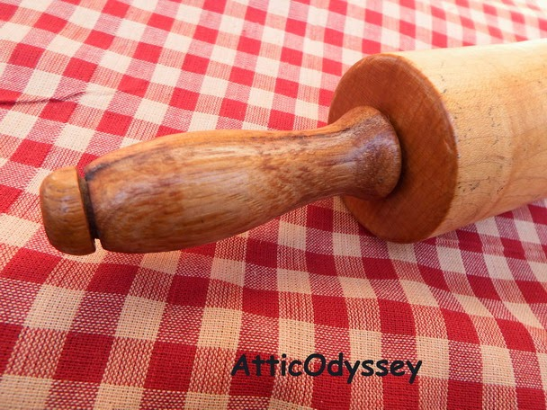 Vintage Maple Rolling Pin