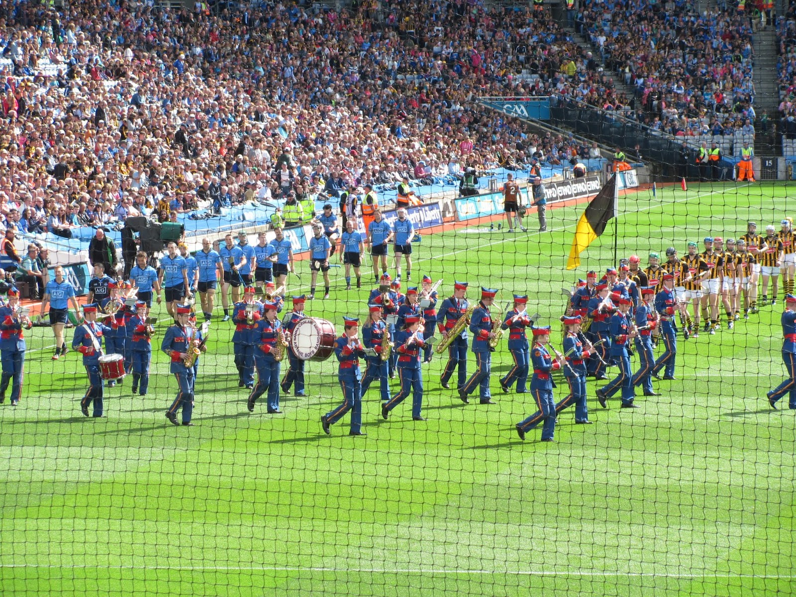 Dublin and Kilkenny on Parade at Croke Park