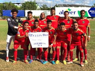 Doblete de Waldy Pérez lleva a Jarabacoa FC a la final de la Serie B