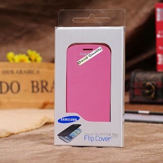 Colors Luxury Battery Leather Flip Case Cover For Samsung Galaxy S3 mini i8190