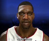 NBA 2K14 Greg Oden Cyberface Mod